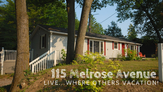 115 Melrose Avenue in Wasaga Beach