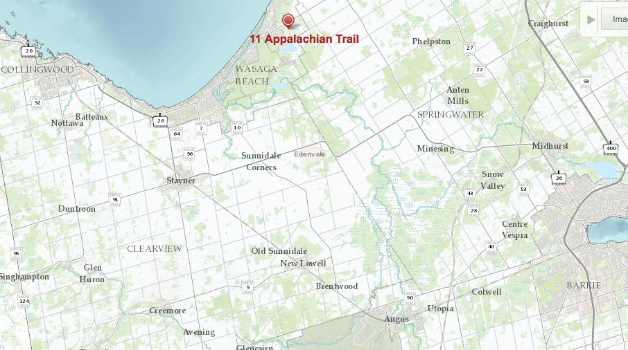 Appalachian Trail New England Map.11 Appalachian Trail In Wasaga Beach The Home Hunt With Bruce Johnson